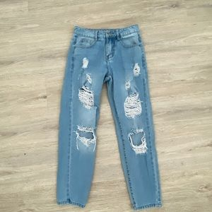 REDIAL HIGH WAISTED JEANS